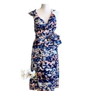 Anthropologie, NWT,Hutch Kappari Wrap Dress, Sz MP